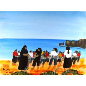 Femmes à Nazaré