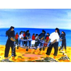 Pêcheurs à Nazaré