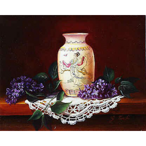 Lilas Au Vase Chinois