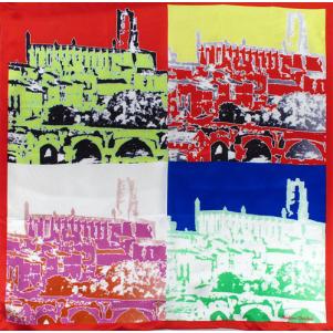 Cathédrale d'Albi Rouge à La Andy Wharol