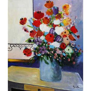 Le Bouquet à La Fenêtre