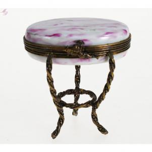 Boîte porcelaine de Limoges Table